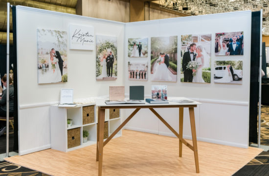 Kristen Marie Wedding + Portraits | Bridal Spectacular Show Booth