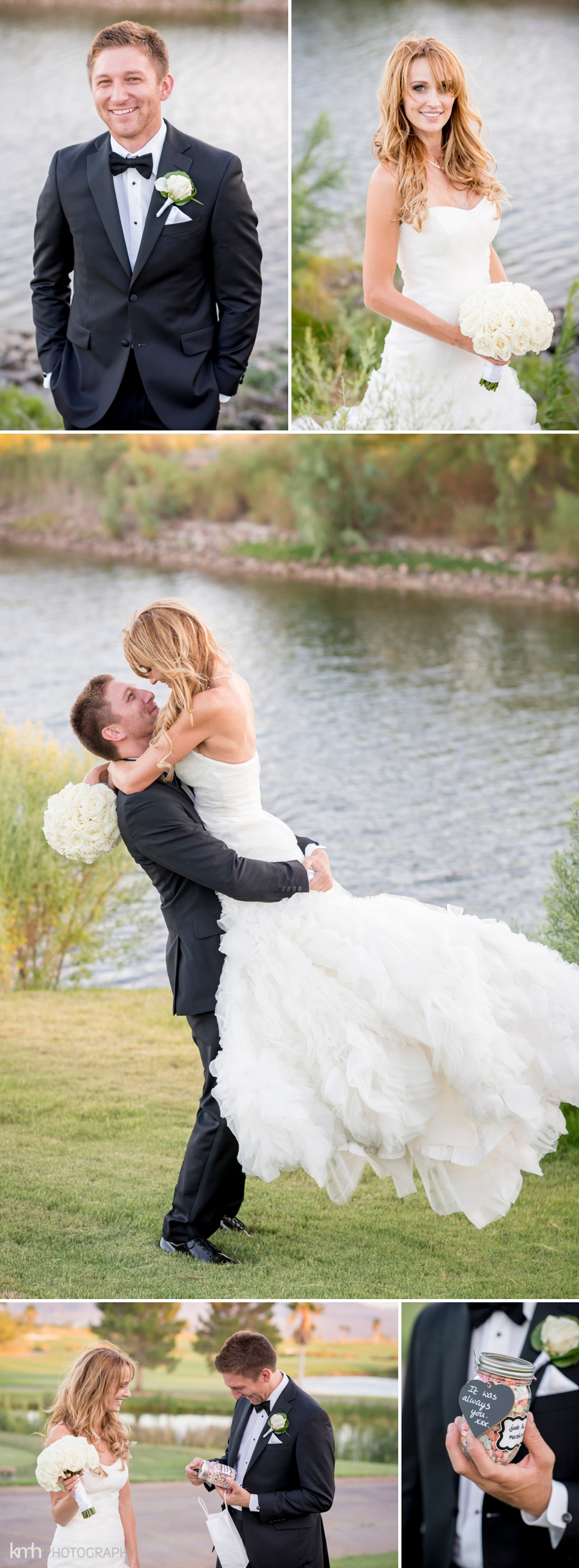 as vegas boulder city boulder creek golf club wedding photographer