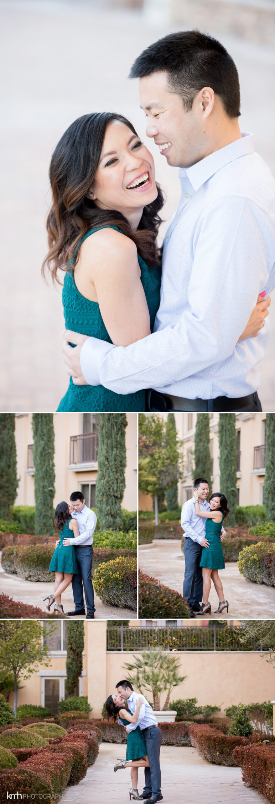 lake las vegas engagement photography session kmh photography