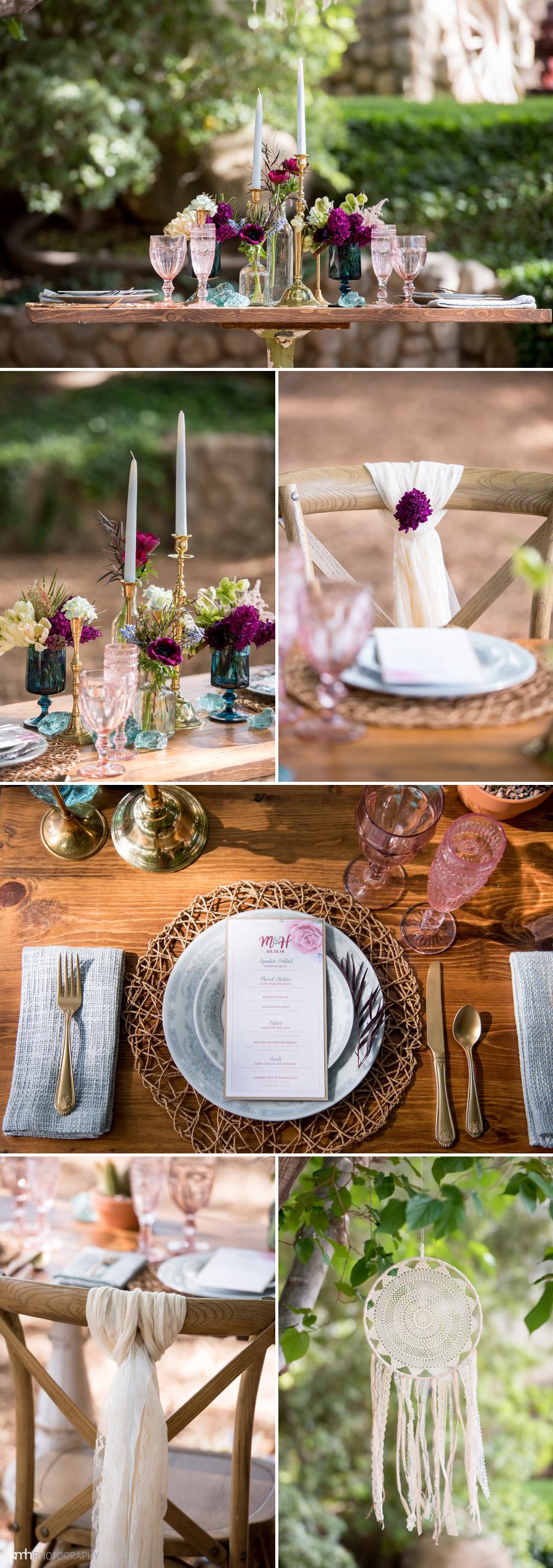 boho wedding kmh photography las vegas legends ranch