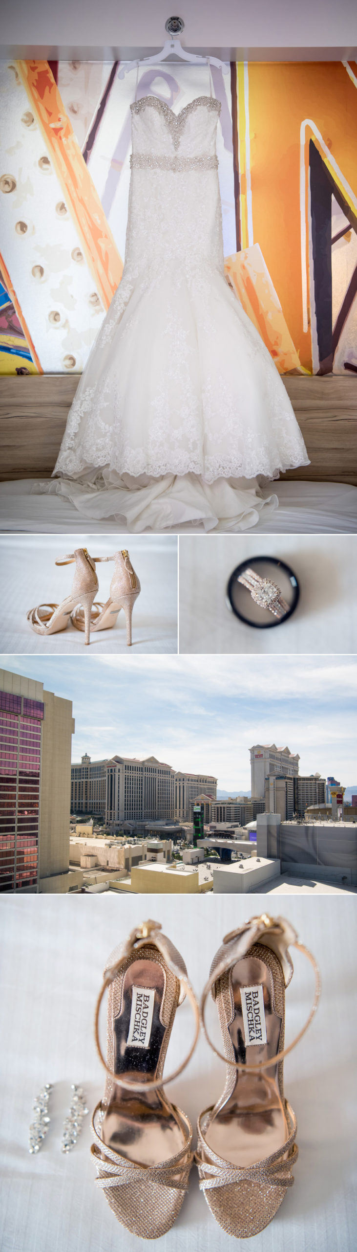 KMH Photography | Linq Hotel, Neon Museum & Downtown Las Vegas Destination Wedding