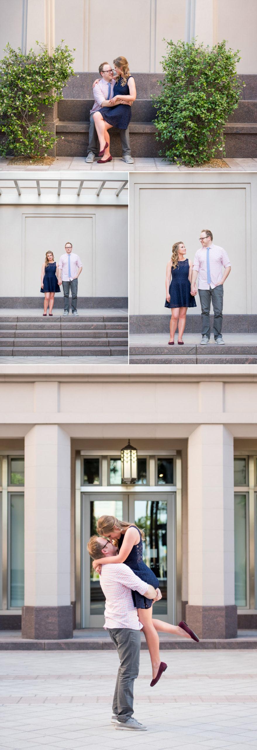 Downtown Las Vegas Engagement Session | KMH Photography | Las Vegas Engagement Photographer