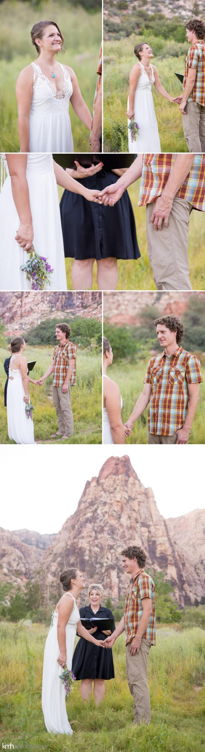Nevada Desert Elopement | KMH Photography, Las Vegas Wedding Photographer