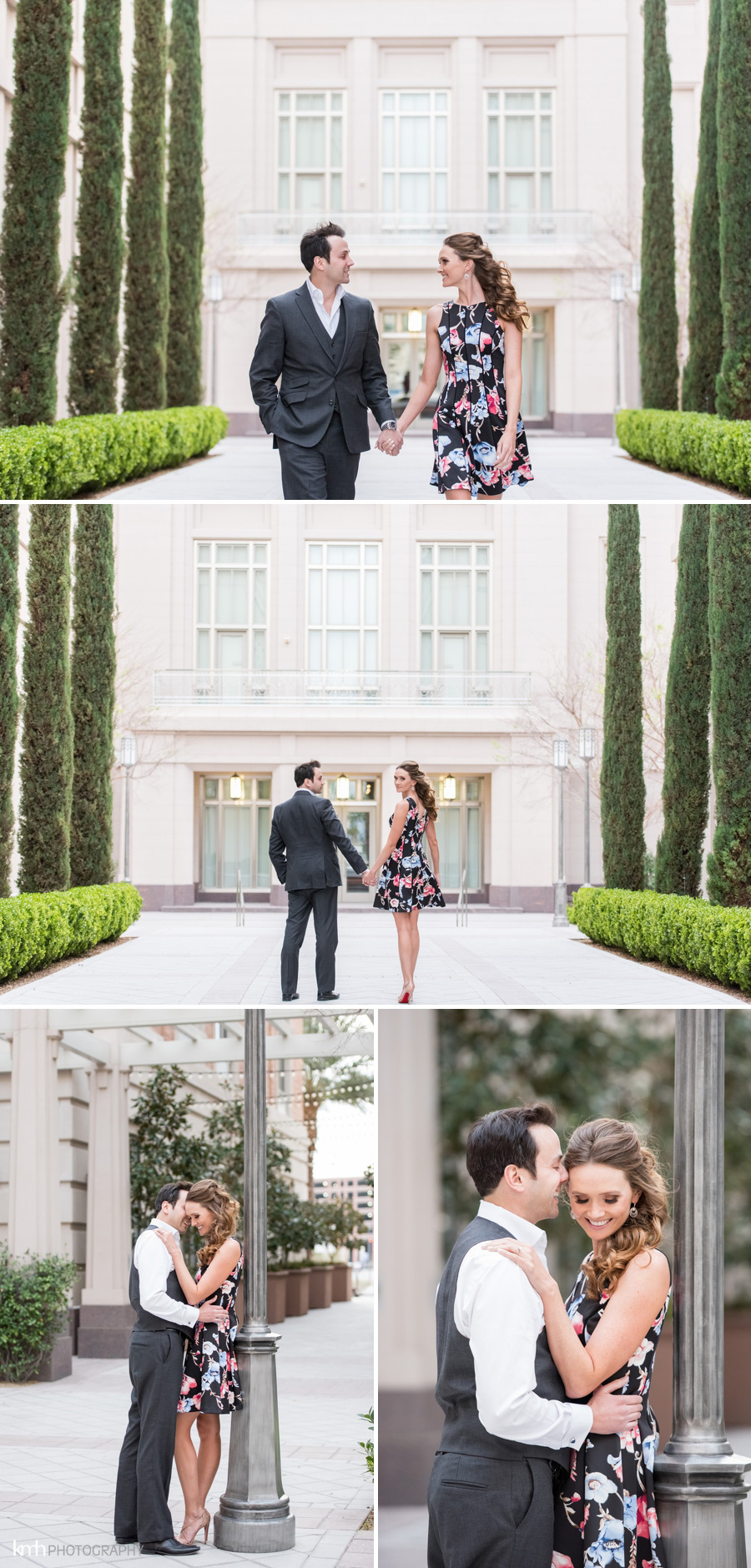 Downtown Las Vegas Engagement Session | KMH Photography | Las Vegas Wedding Photographer