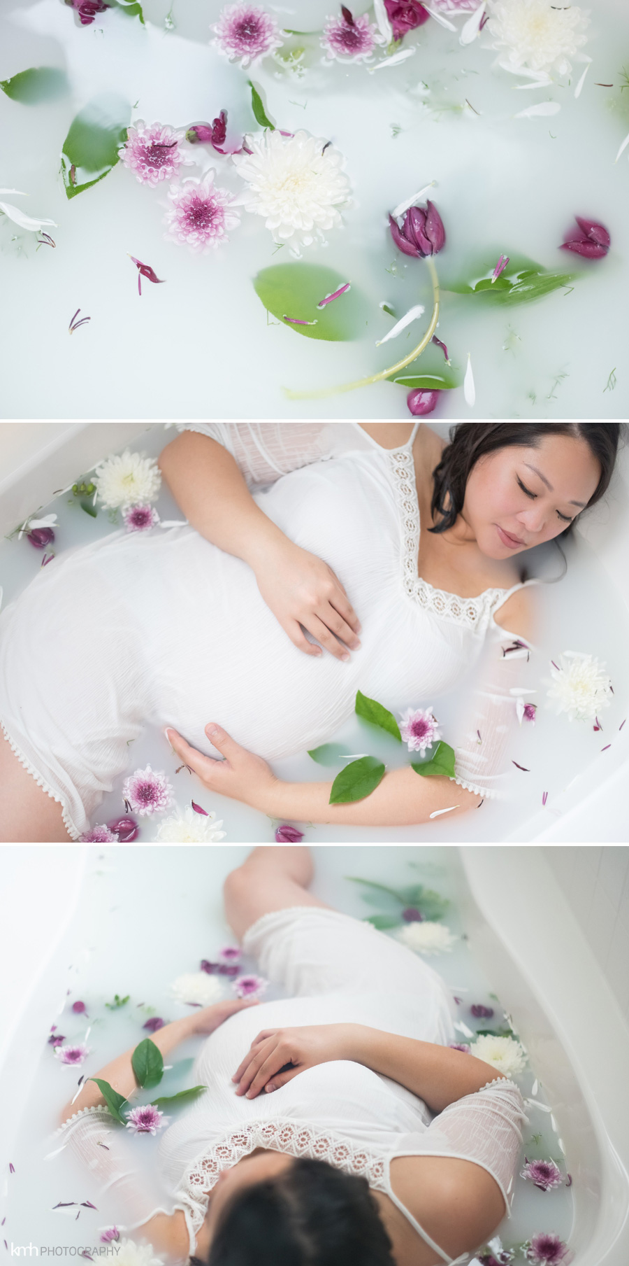 Milkbath Maternity Session | KMH Photography | Las Vegas Maternity Photographer