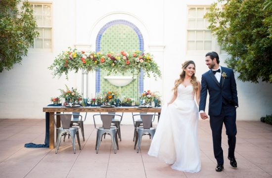 Historic Fifth Street School Wedding | Kristen Marie Weddings + Portraits, Las Vegas wedding photographer