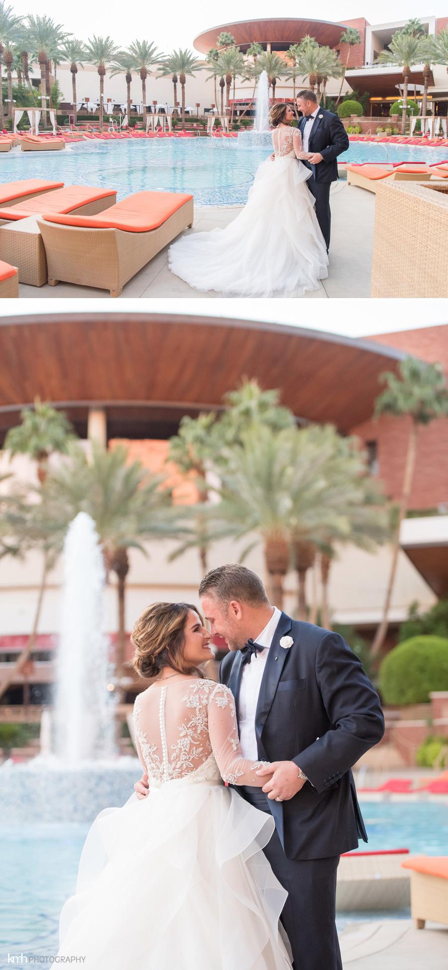 Kristin + Spencer | Elegant Red Rock Resort Wedding | KMH Photography, Las Vegas Wedding Photographer