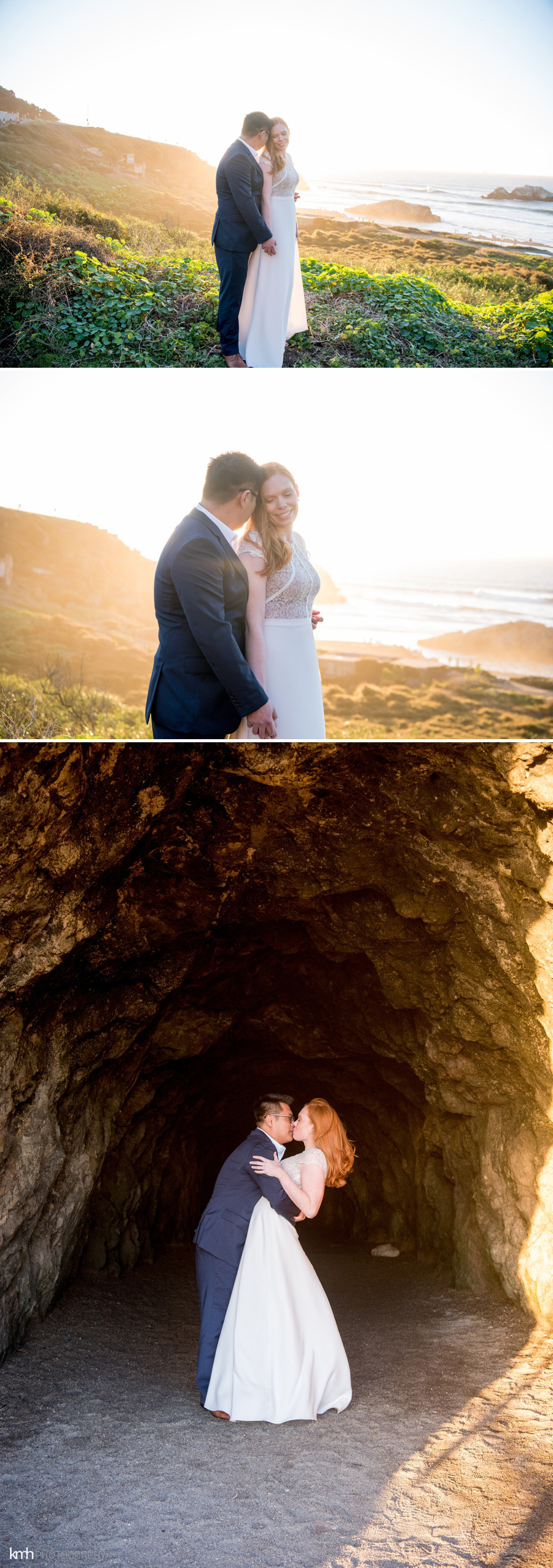 San Francisco Engagement Session at Sutro Baths | KMH Photography, Las Vegas + Destination Wedding Photographer