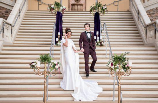 Royal Wedding Inspiration at Green Valley Ranch   Kristen Marie Weddings + Portraits, Las Vegas wedding photographer