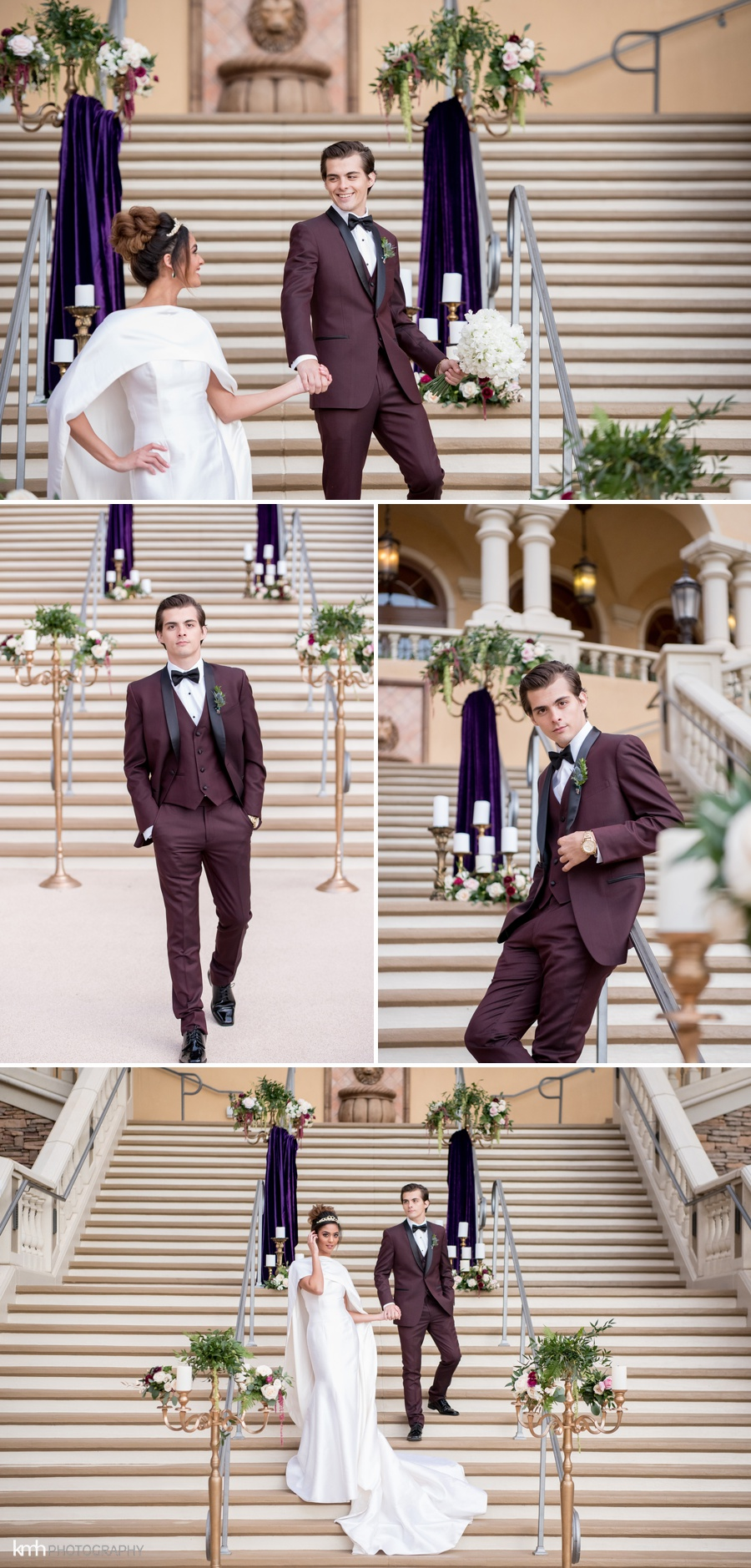 Royal Wedding Inspiration | Green Valley Ranch Resort in Las Vegas, NV | KMH Photography, Las Vegas Wedding Photographer
