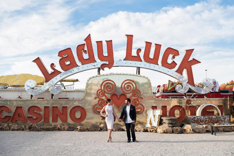 Neon Museum engagement Session   Kristen Marie Weddings + Portraits, Las Vegas wedding photographer