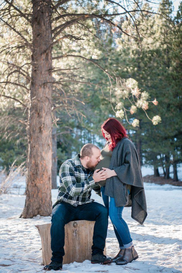 Maternity + Newborn Portrait Sessions | Kristen Marie Weddings + Portraits, Las Vegas family photographer