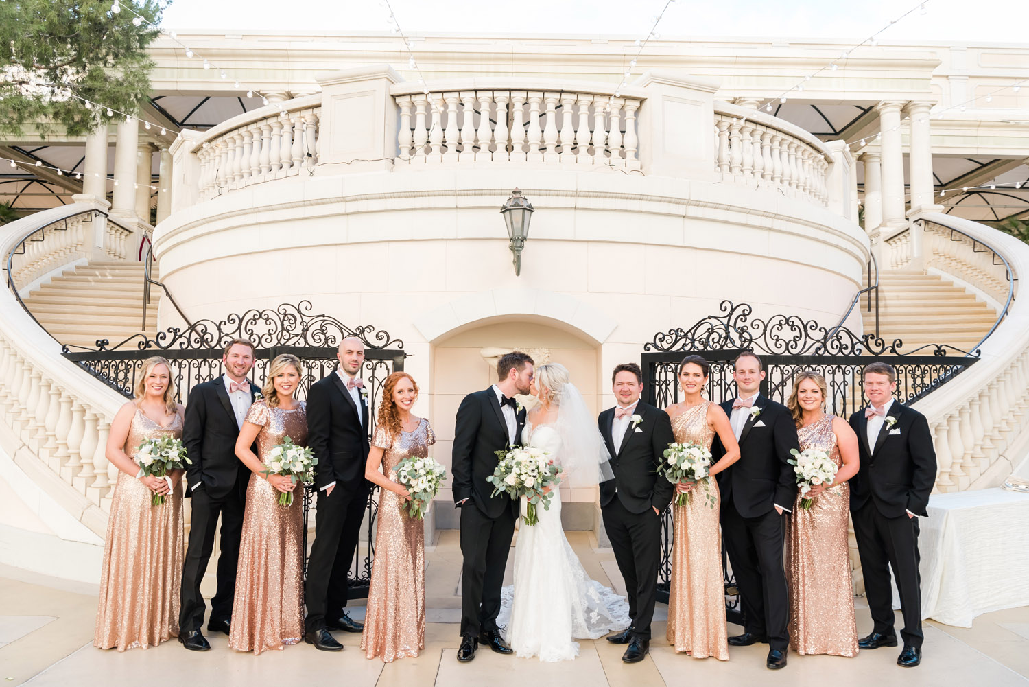 Bellagio Las Vegas Wedding | Kristen Marie Weddings + Portraits, Las Vegas wedding photographer