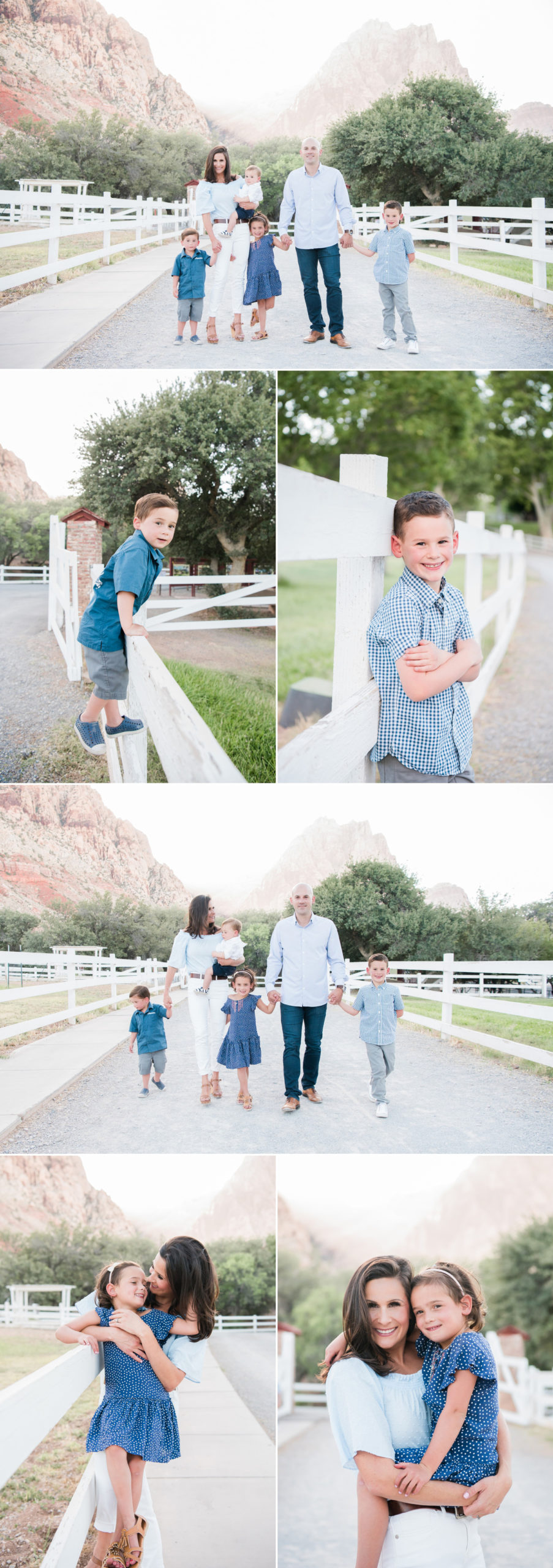 Spring Mountain Ranch Family Photoshoot | Kristen Marie Weddings + Portraits | Las Vegas Family Photographer