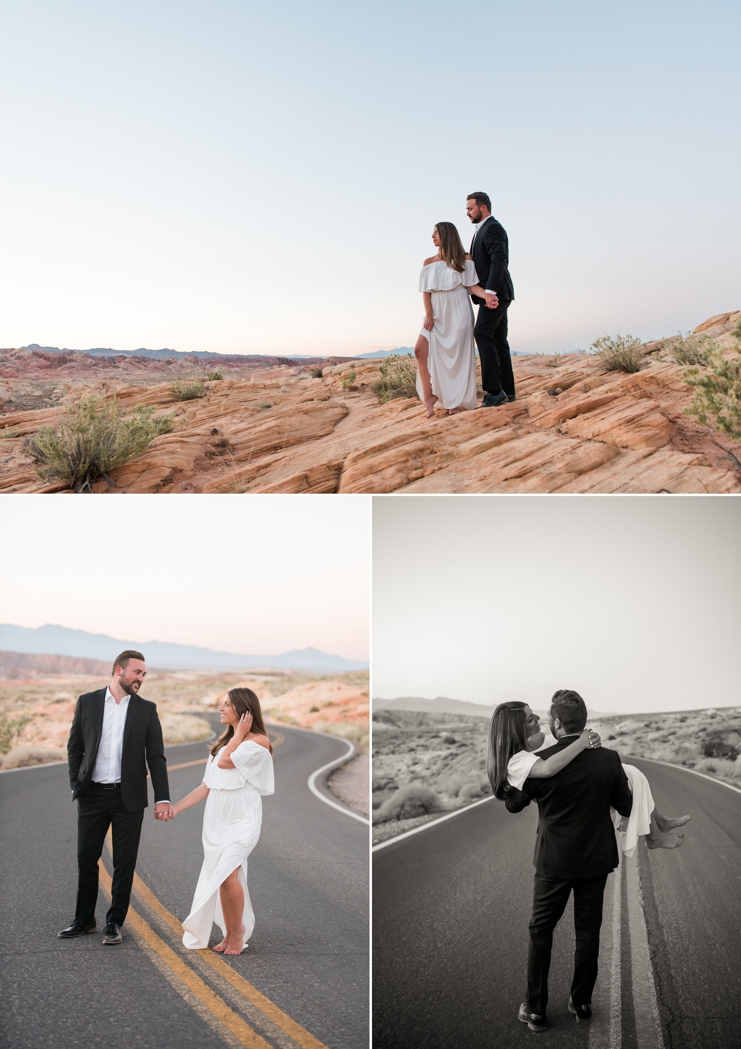 Valley of Fire Engagement Session | Kristen Marie Weddings + Portraits | Las Vegas Wedding Photographer