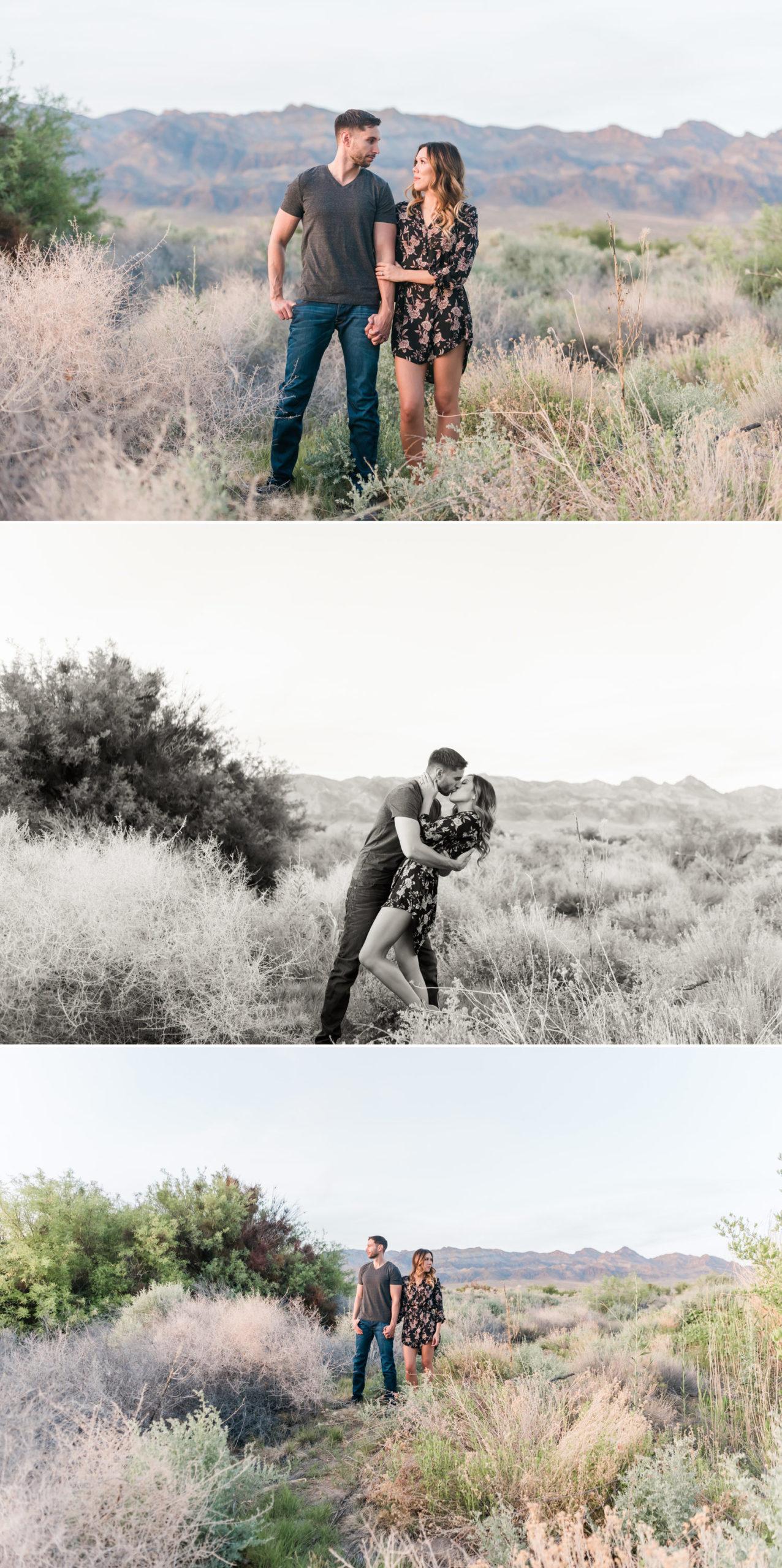 Desert National Wildlife Refuge Corn Creek Engagement Session | Kristen Marie Weddings + Portraits