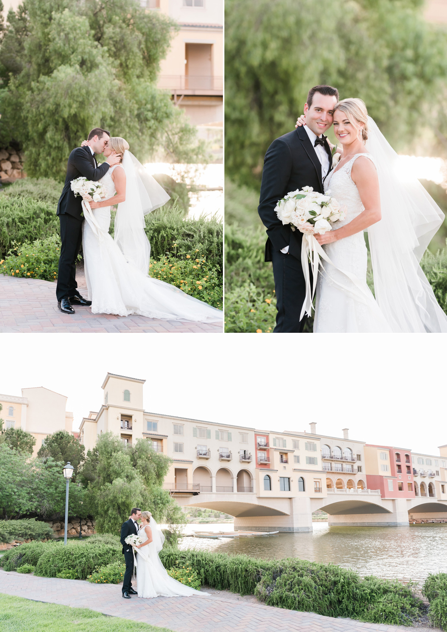 Hilton Lake Las Vegas Wedding Photography | Kristen Marie Weddings + Portraits