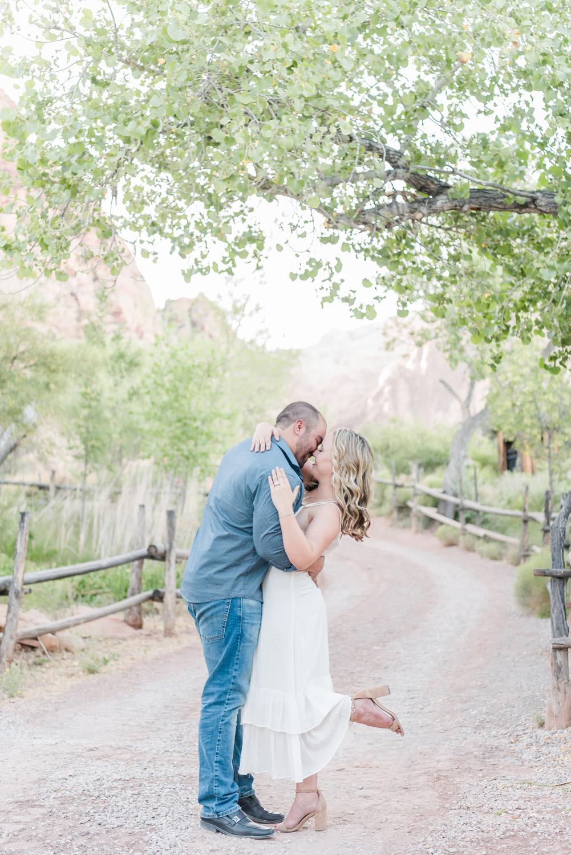 Spring Mountain Ranch Engagement Session | Kristen Marie Weddings + Portraits, Las Vegas Engagement Photographer Kristen Marie