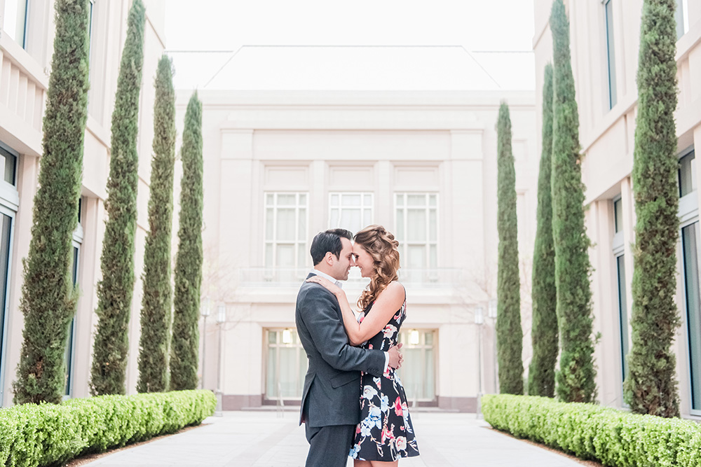 Smith Center Engagement Session | Kristen Marie Weddings + Portraits | Las Vegas Wedding Photographer