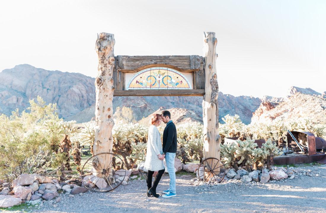 Nelson Eldorado Canyon Engagement Photos | Kristen Marie Weddings + Portraits | Las Vegas Wedding Photographer