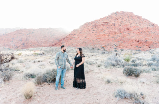 Las Vegas Desert Maternity Session | Kristen Marie Weddings + Portraits, Las Vegas Wedding Photographer
