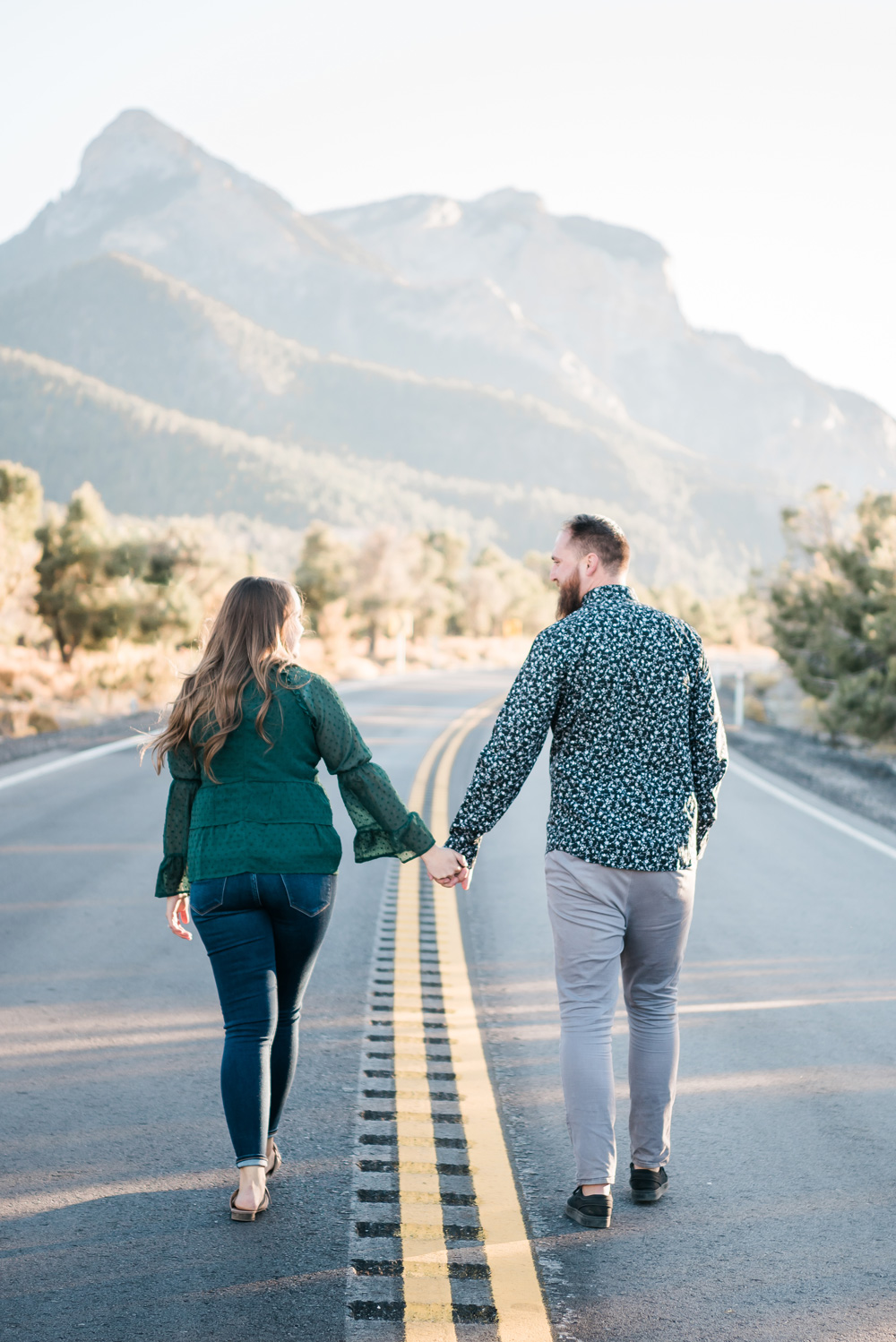 Mount Charleston Engagement Session | Kristen Marie Weddings + Portraits | Las Vegas Wedding Photographer