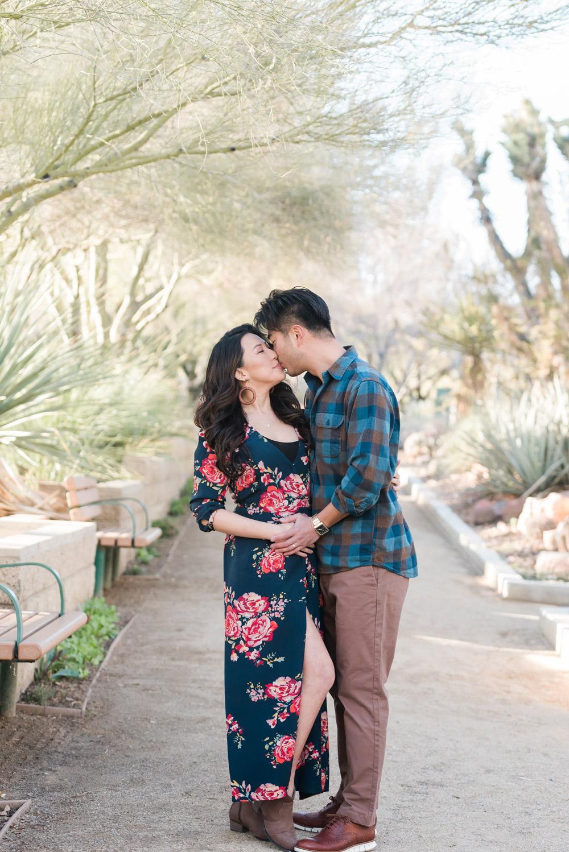 Springs Preserve Maternity Session | Kristen Marie Weddings + Portraits | Las Vegas Maternity Photographer