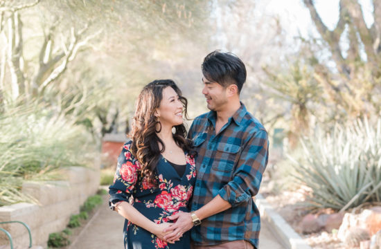 Springs Preserve Maternity Session | Kristen Marie Weddings + Portraits | Las Vegas Maternity Photographer
