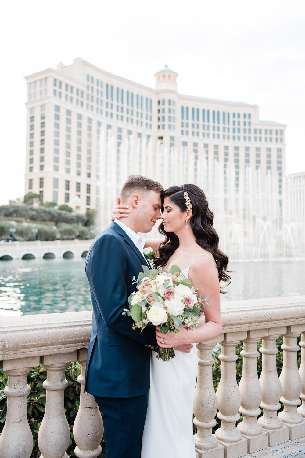 Bellagio Las Vegas Wedding | Kristen Marie Weddings + Portraits | Las Vegas Wedding Photographer