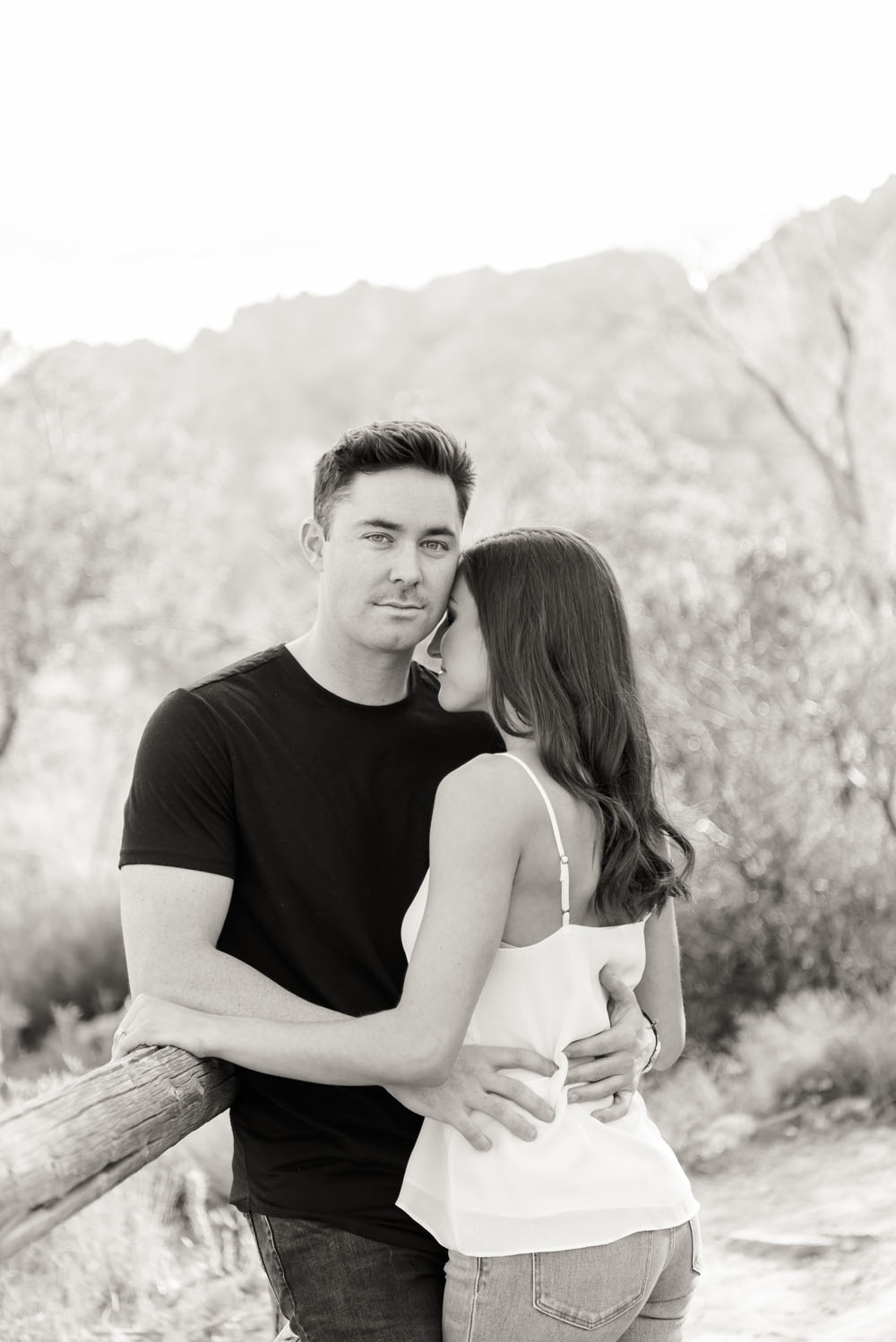 Spring Mountain Ranch Engagement Session | Kristen Marie Weddings + Portraits