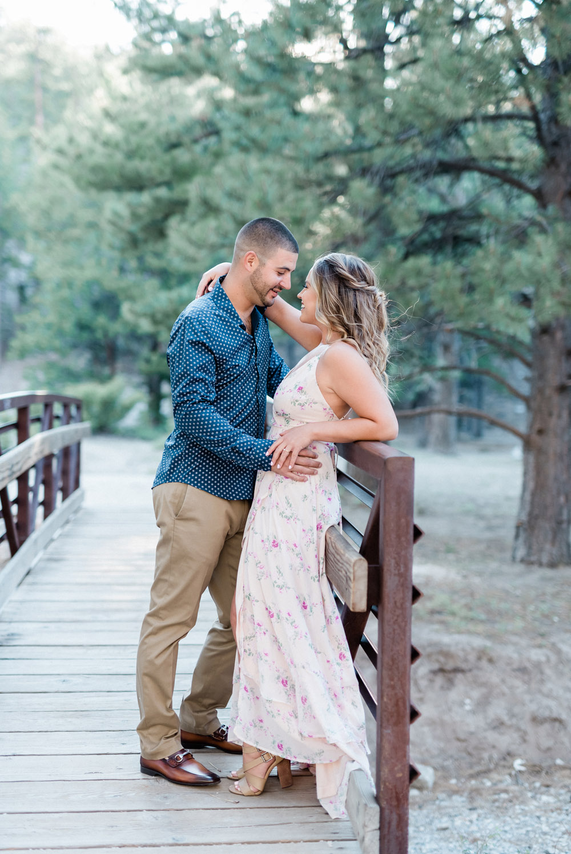 Mountain Engagement Session | Kristen Marie Weddings + Portraits | Las Vegas Wedding Photographer