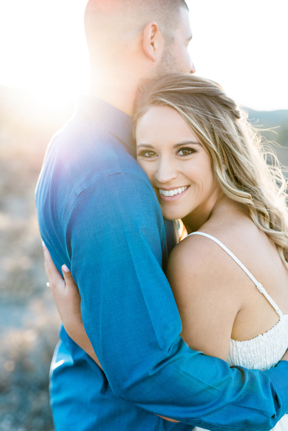 Desert Engagement Session | Kristen Marie Weddings + Portraits | Las Vegas Wedding Photographer