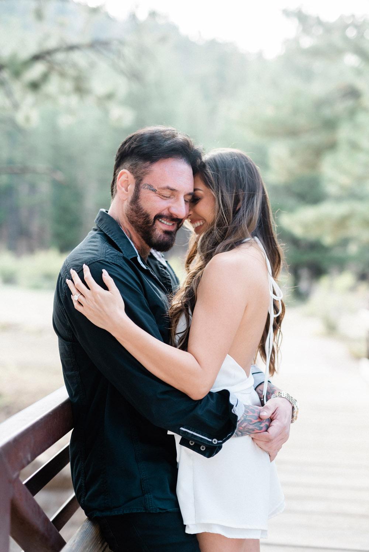 Las Vegas engagement session in the mountains | Kristen Marie Weddings + Portraits, Las Vegas wedding photographer